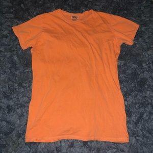 6/$20 Comfort Colors size medium orange tee shirt
